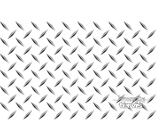 Stainless Steel Tumbler, Diamond Plate