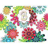 INITIAL-B Flower Burst