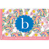 INITIAL - B Simply Southern® Pastel Leaves