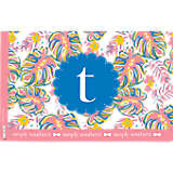 INITIAL - T Simply Southern® Pastel Leaves