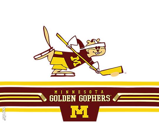 Minnesota Golden Gophers Retro Hockey