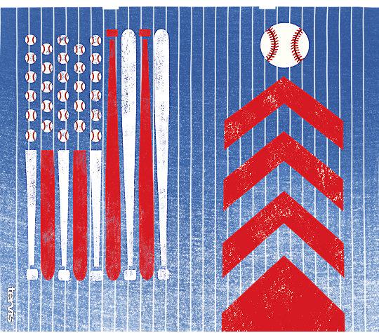 Baseball Flag image number 1