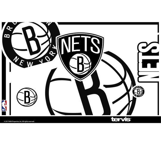 NBA® Brooklyn Nets Paint image number 1