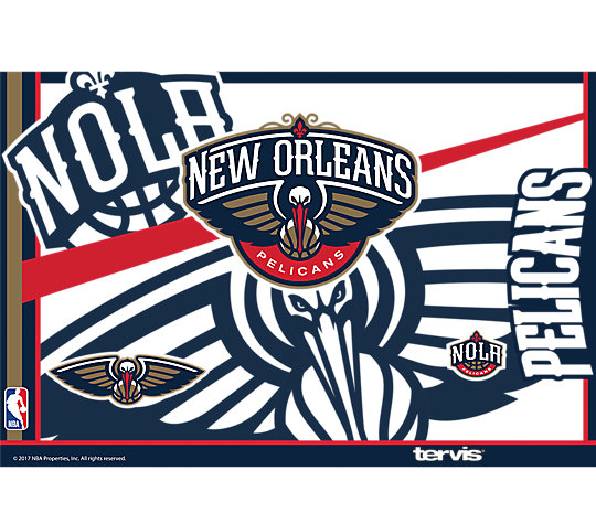 NBA® New Orleans Pelicans Paint image number 1