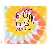 Puppie Love - Tie Dye Puppy