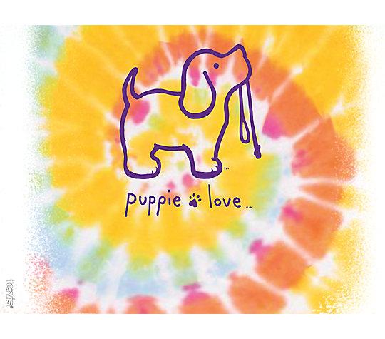 Puppie Love - Tie Dye Puppy image number 1