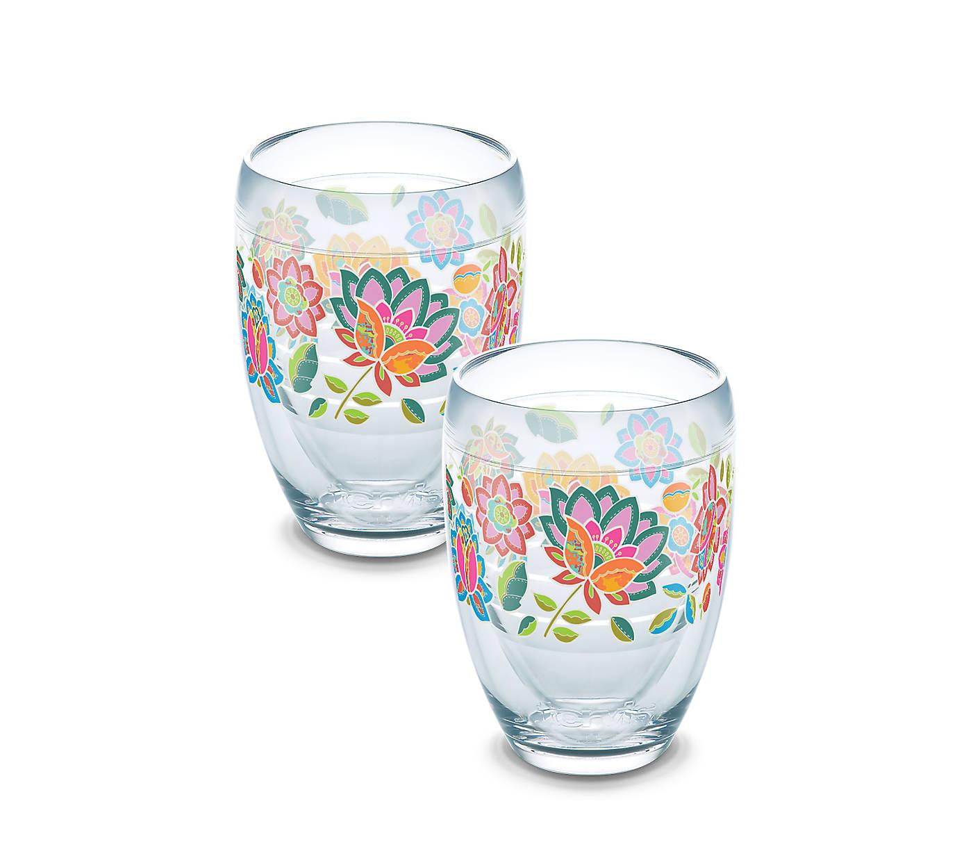 eff4de8fec7 Boho Floral Chic Wrap 2-Pack Gift Set - Boxed   Tervis Official Store