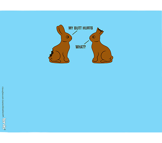 Snorg Tees - Chocolate Bunnies image number 1