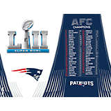 NFL® New England Patriots AFC Champions  Super Bowl 52 Bound