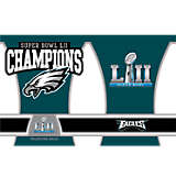 NFL® Stainless Steel Tumbler,  Philadelphia Eagles Super Bowl 52 Champions