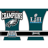 NFL® Stainless Steel Tumbler,  Philadelphia Eagles Super Bowl 52 Champions
