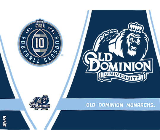 Old Dominion Monarchs 10 Football Seasons