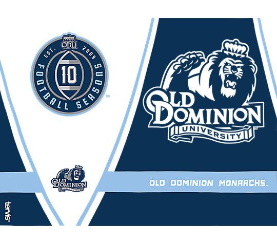 Old Dominion Monarchs 10 Football Seasons image number 1