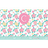 INITIAL - C Simply Southern® - Pastel Turtle