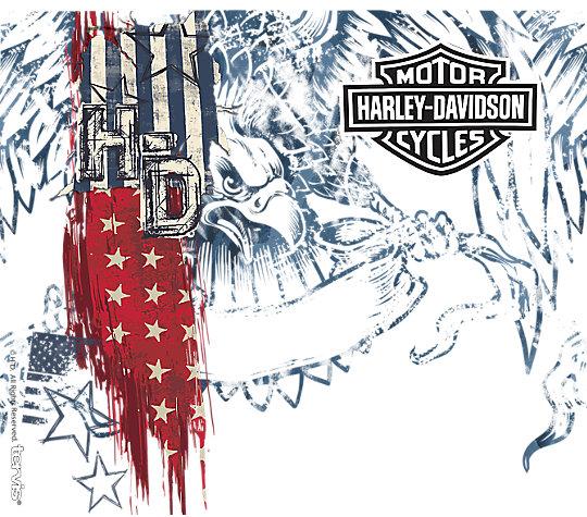 Harley-Davidson - American Flag image number 1