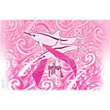 Guy Harvey® - Breast Cancer Awareness 2018 Dolphin