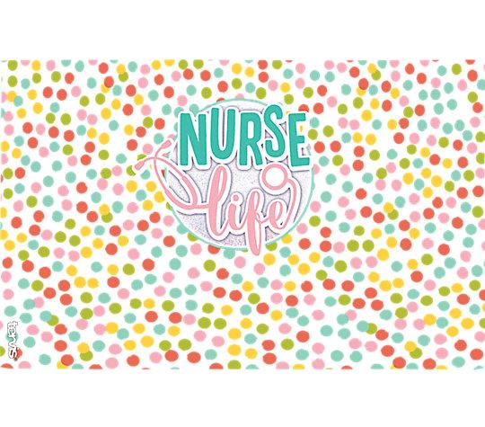 Nurse Life Polka Dots image number 1