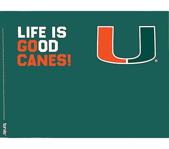 Miami Hurricanes Life is Good® image number 1