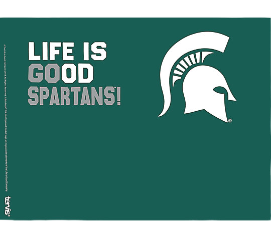 Michigan State Spartans Life is Good® image number 1