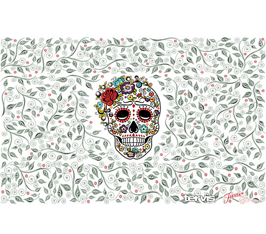Fiesta® - Skull and Flowers