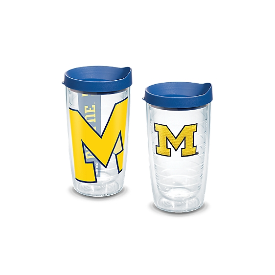 Michigan Wolverines Big M Logo and Colossal