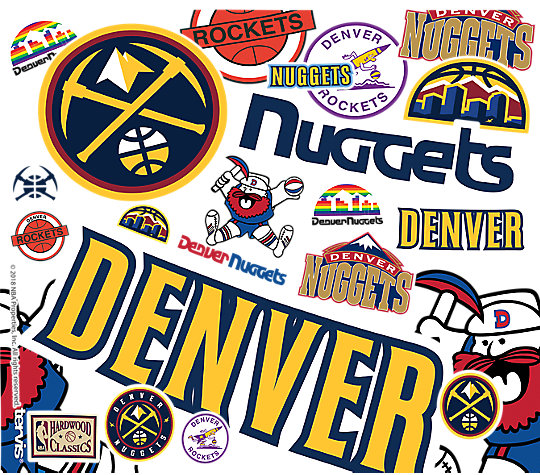 NBA® Denver Nuggets All Over image number 1