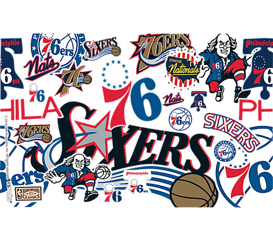 NBA® Philadelphia 76ers All Over image number 1