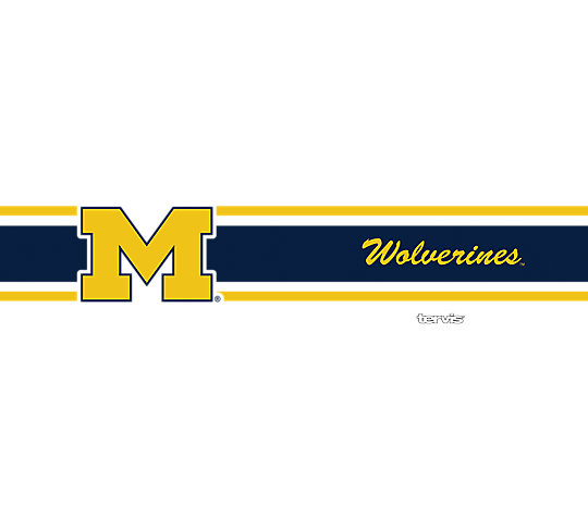 Michigan Wolverines Stripes image number 1
