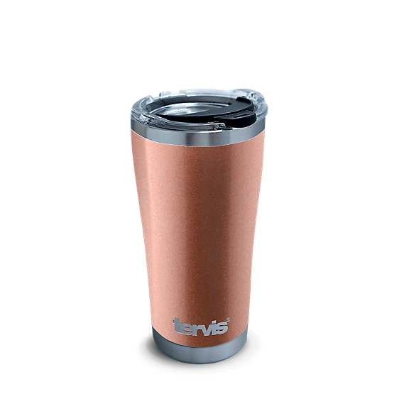 Stainless Steel Tumbler, Rose Gold