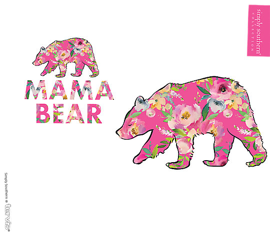 Simply Southern® - Floral Mama Bear image number 1