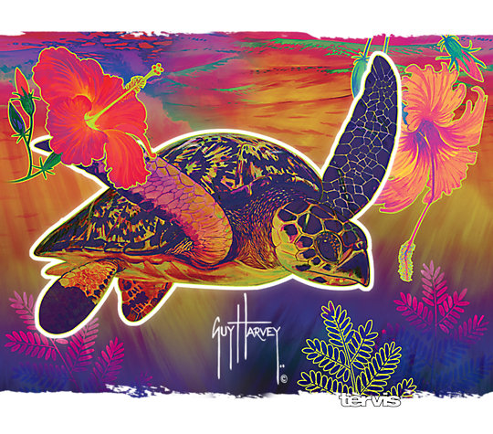 Guy Harvey® - Neon Turtle image number 1
