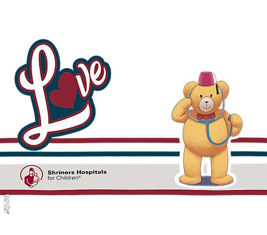 Shriners Hospitals for Children Bear image number 1