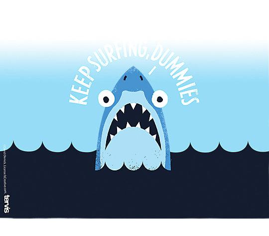 David Olenick - Keep Surfing Shark image number 1