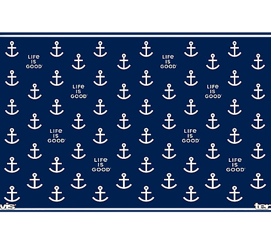 Life is Good® - Navy Anchor Pattern