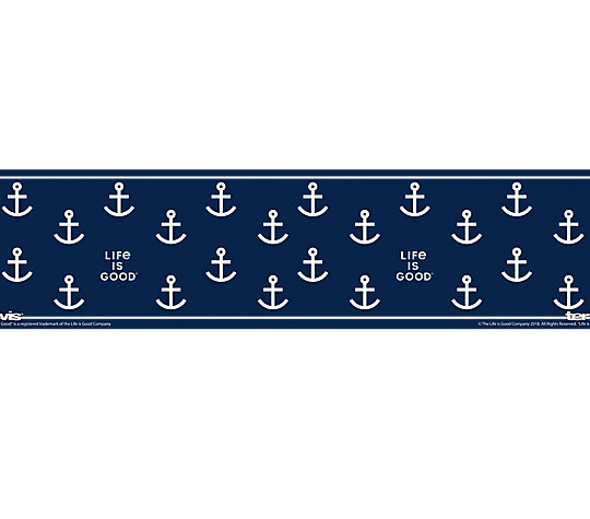 Life is Good® - Navy Anchor Pattern image number 1