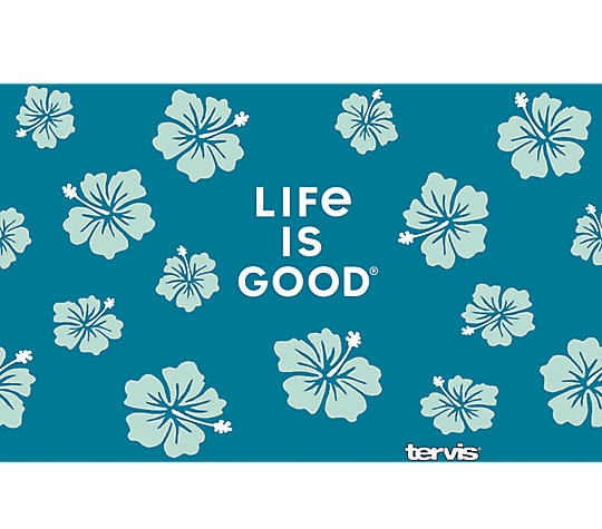 Life is Good® - Green Hibiscus
