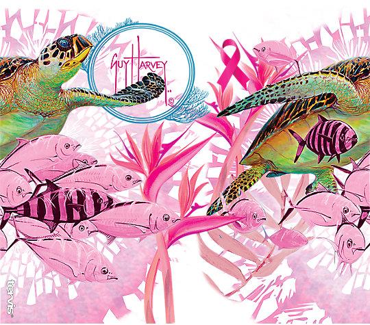 Guy Harvey®- Breast Cancer Awareness Turtles image number 1