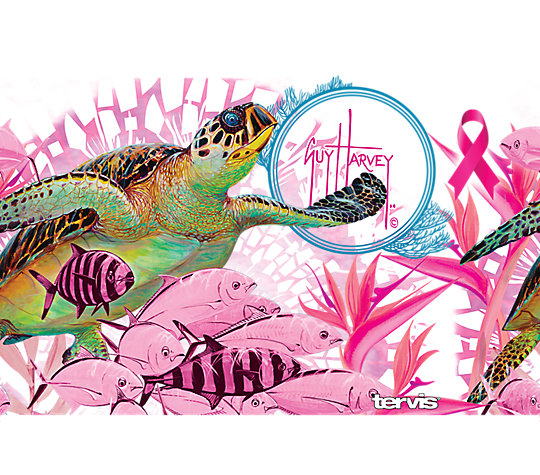 Guy Harvey®- Breast Cancer Awareness Turtles image number 1