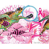 Guy Harvey®- Breast Cancer Awareness Turtles