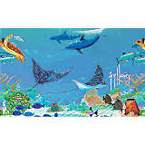 Guy Harvey® - Ocean Scene