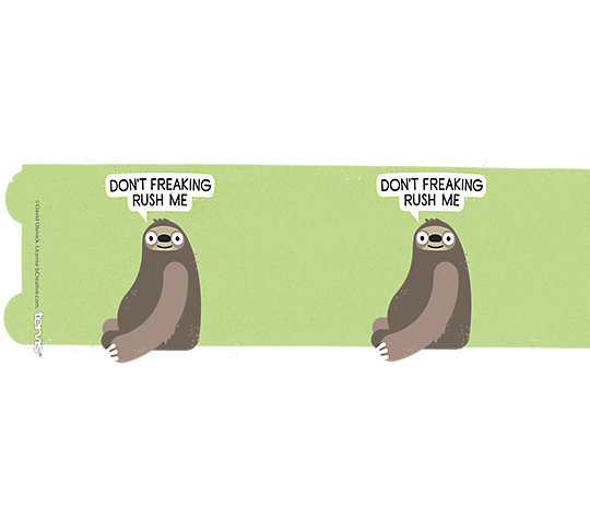 David Olenick - Don't Rush Me Sloth image number 1