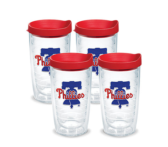 Philadelphia Phillies Reusable Plastic Cups 24-16 oz