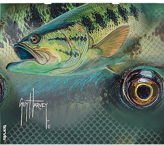 Guy Harvey® - Bass Camo Pattern image number 1