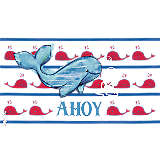 Ahoy Whale Pattern