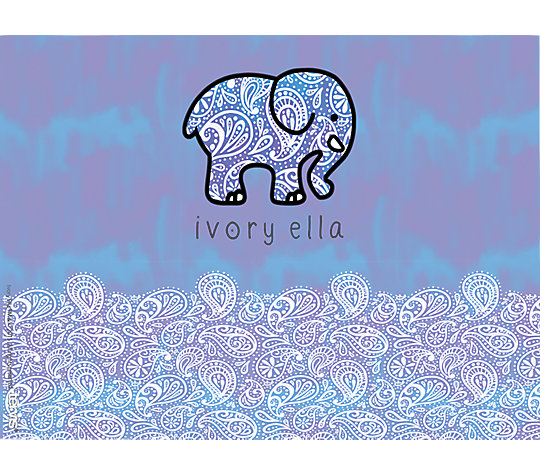 Ivory Ella - Frosted Paisley image number 1