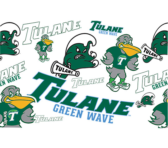 Tulane Green Wave All Over image number 1