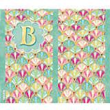 INITIAL-B Multicolored Scallop