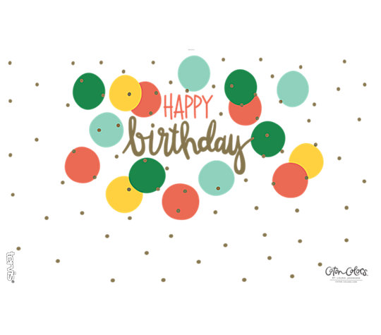 Coton Colors™ - Happy Birthday image number 1