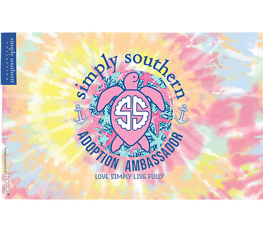 Simply Southern® - Tie Dye Turtle image number 1