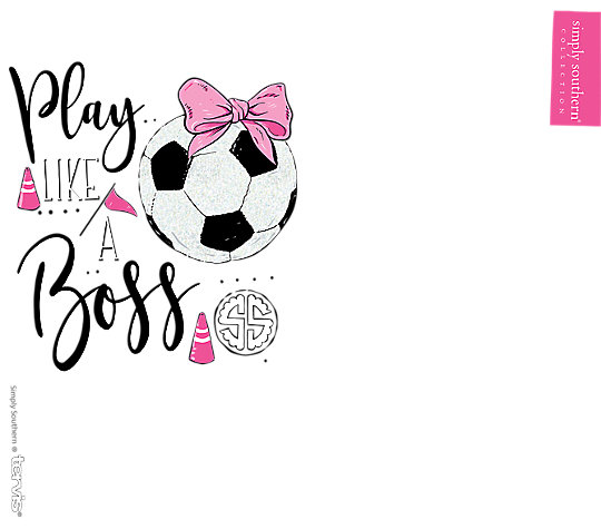 Simply Southern® - Play Like a Boss Soccer image number 1